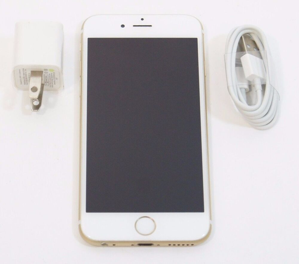 used apple iphone 6 16gb unlocked gsm cricket at t a1549. Black Bedroom Furniture Sets. Home Design Ideas