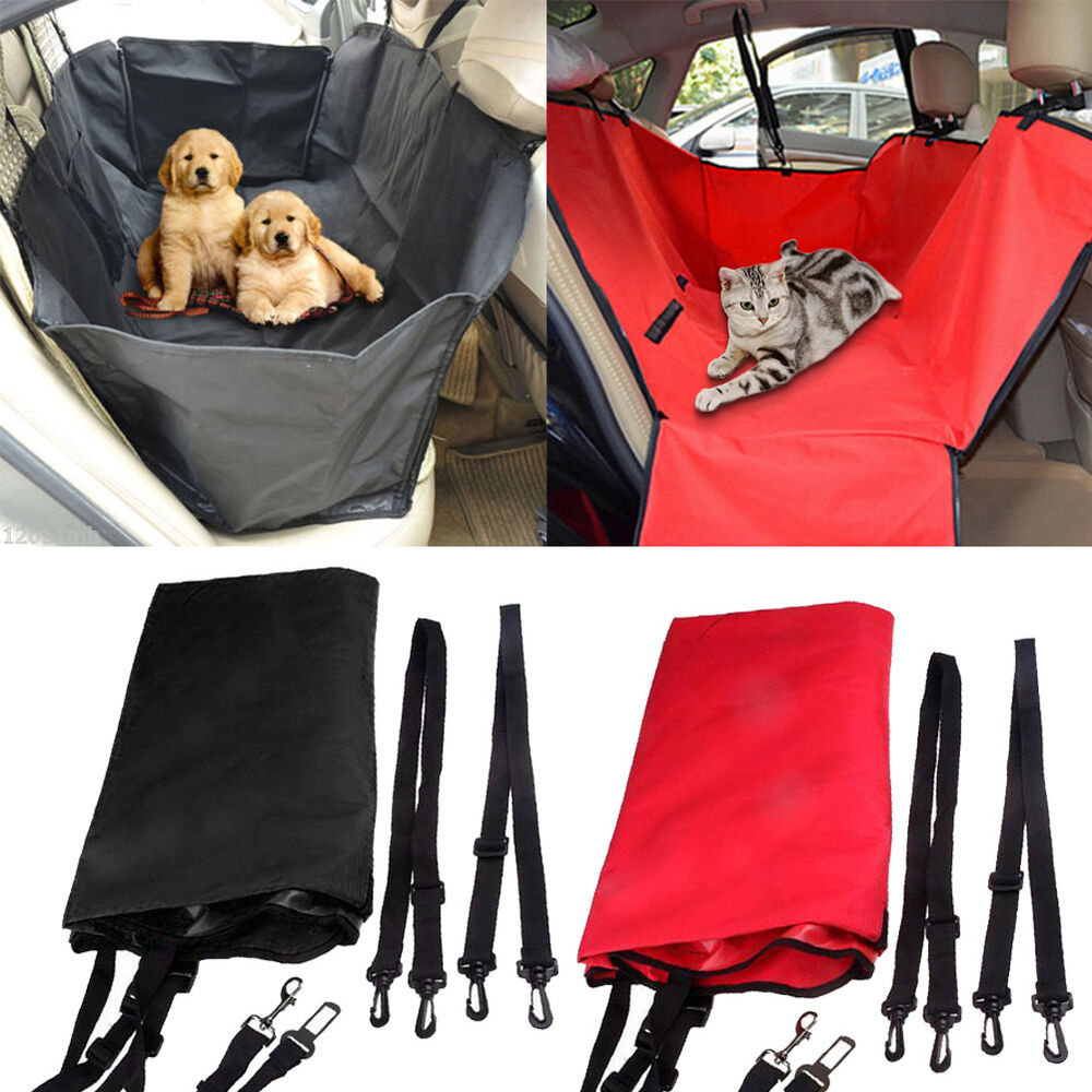 travel car seat hammock cover protector safety mat waterproof for pet dog cat ebay. Black Bedroom Furniture Sets. Home Design Ideas