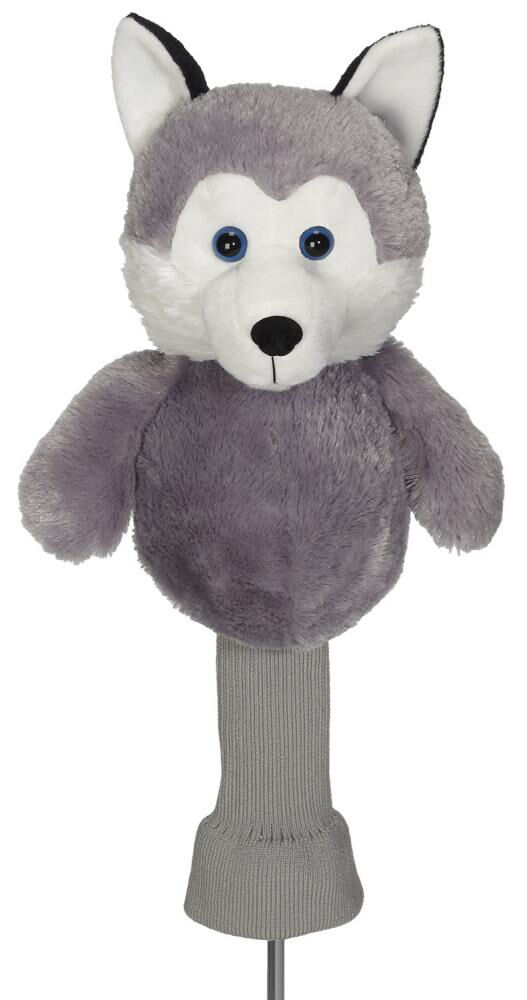 Husky Dog Golf Driver Woods Headcover 460cc Animal Mascot