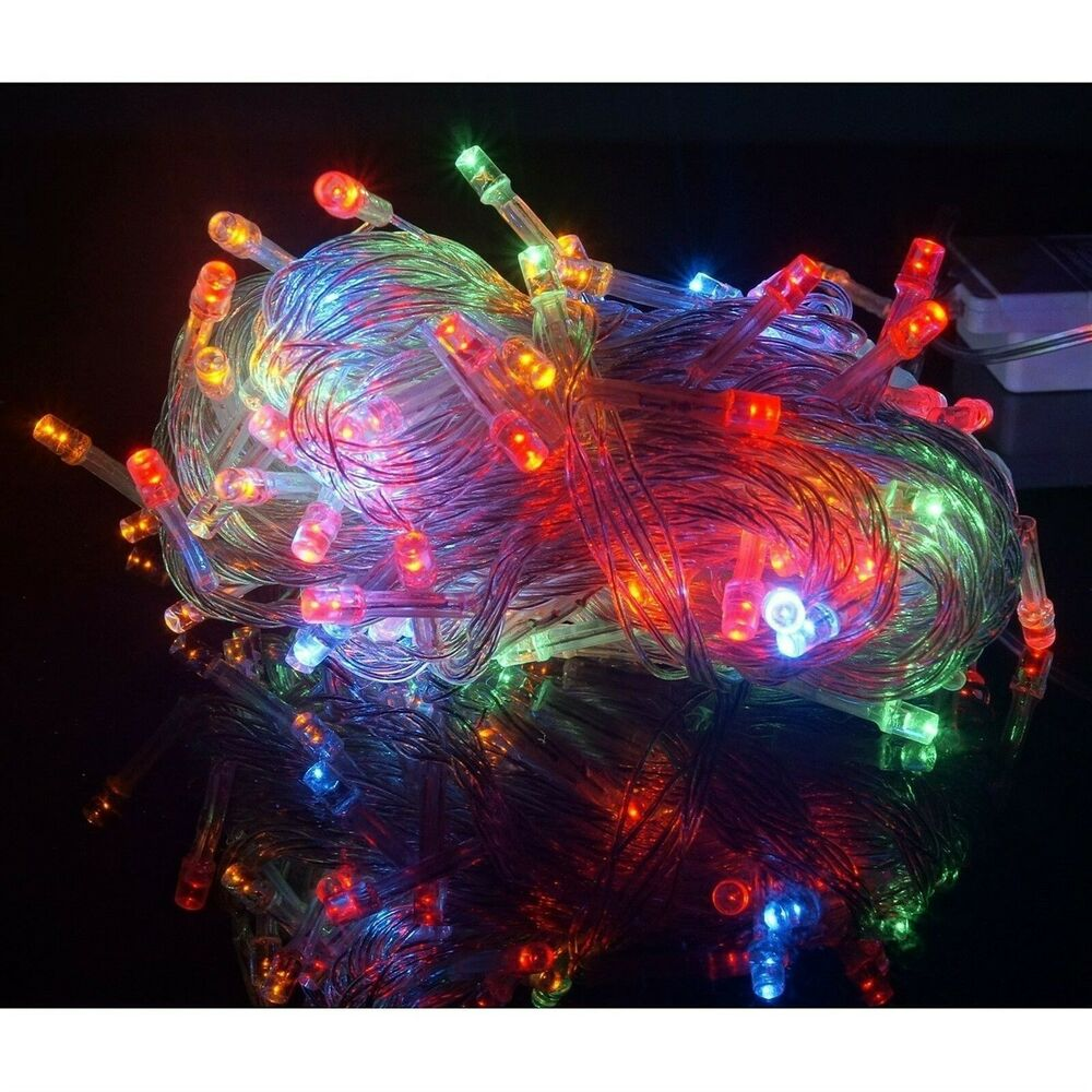 Extendable 100 Led String Lights Bright Fairy Rope Light