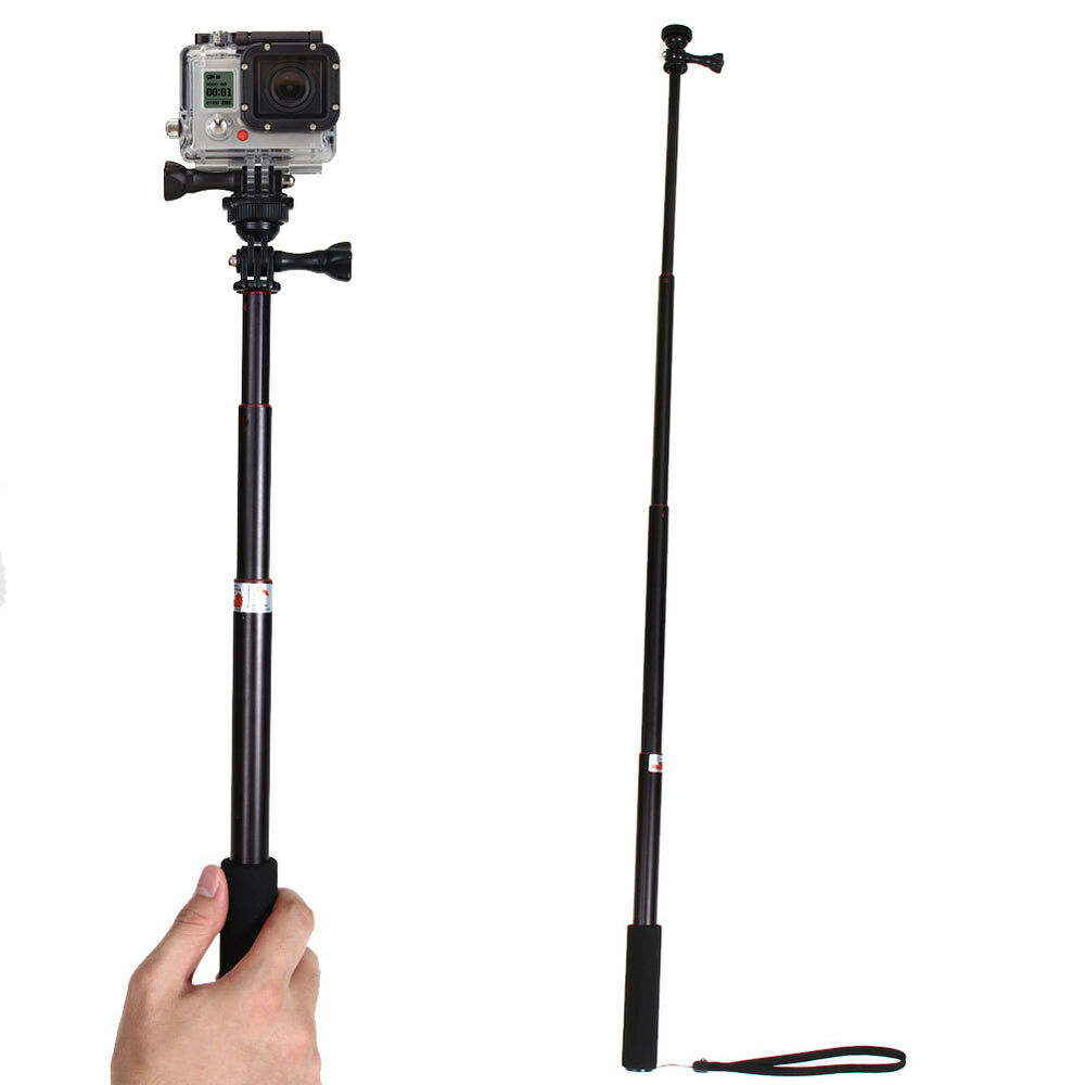 Telescoping Extendable Pole Handheld Tripod Mount Selfie