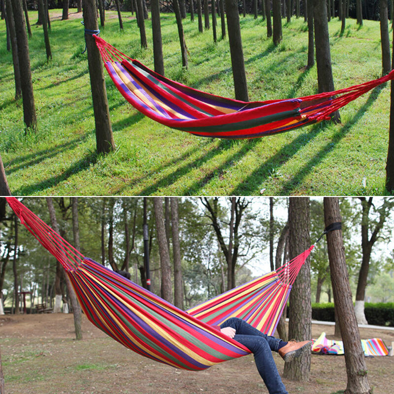 New Portable Cotton Rope Outdoor Swing Fabric Camping ...