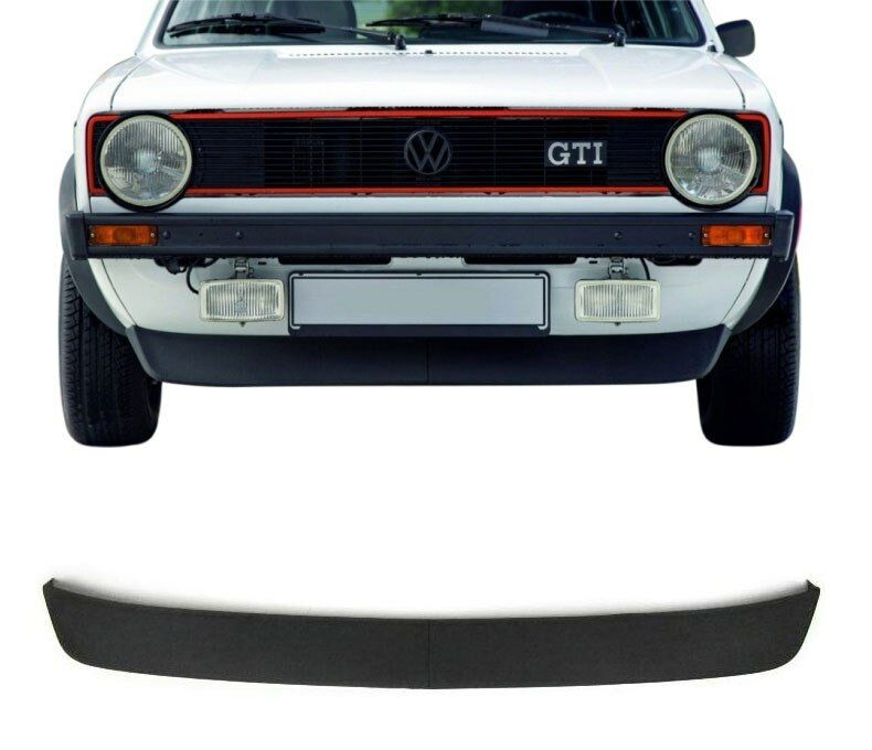 golf 1 i gti look frontspoiler lippe spoiler extra breite. Black Bedroom Furniture Sets. Home Design Ideas
