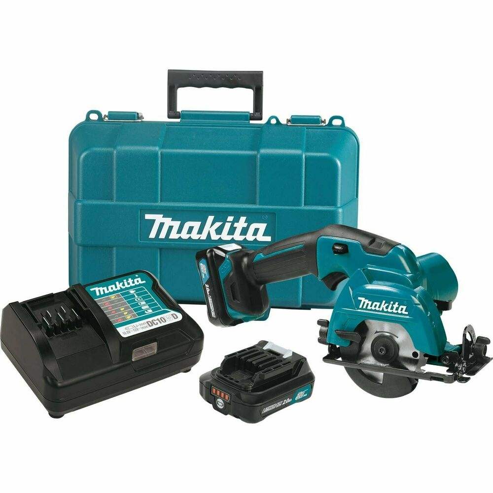 makita sh02r1 12 volt 3 3 8 inch max cxt lithium ion cordless circular saw kit ebay. Black Bedroom Furniture Sets. Home Design Ideas