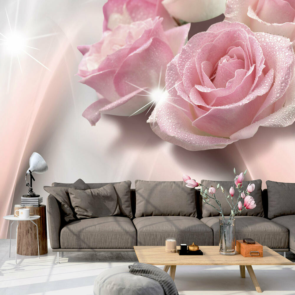 vlies fototapete wandtapete tapeten xxl wandbilder rose blumen b c 0109 a a ebay. Black Bedroom Furniture Sets. Home Design Ideas