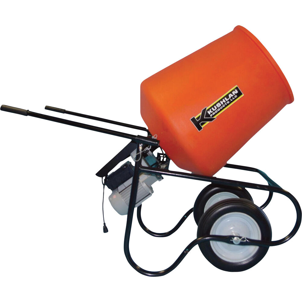 Electric Cement Mixer ~ Kushlan professional portable electric direct drive cement