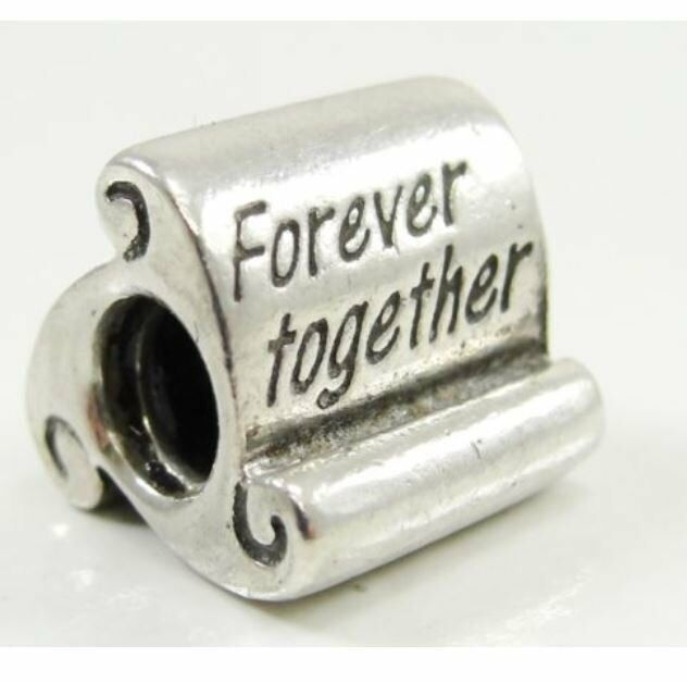 Authentic Scrolls: Pandora Charm Forever Together Scroll Authentic 790513