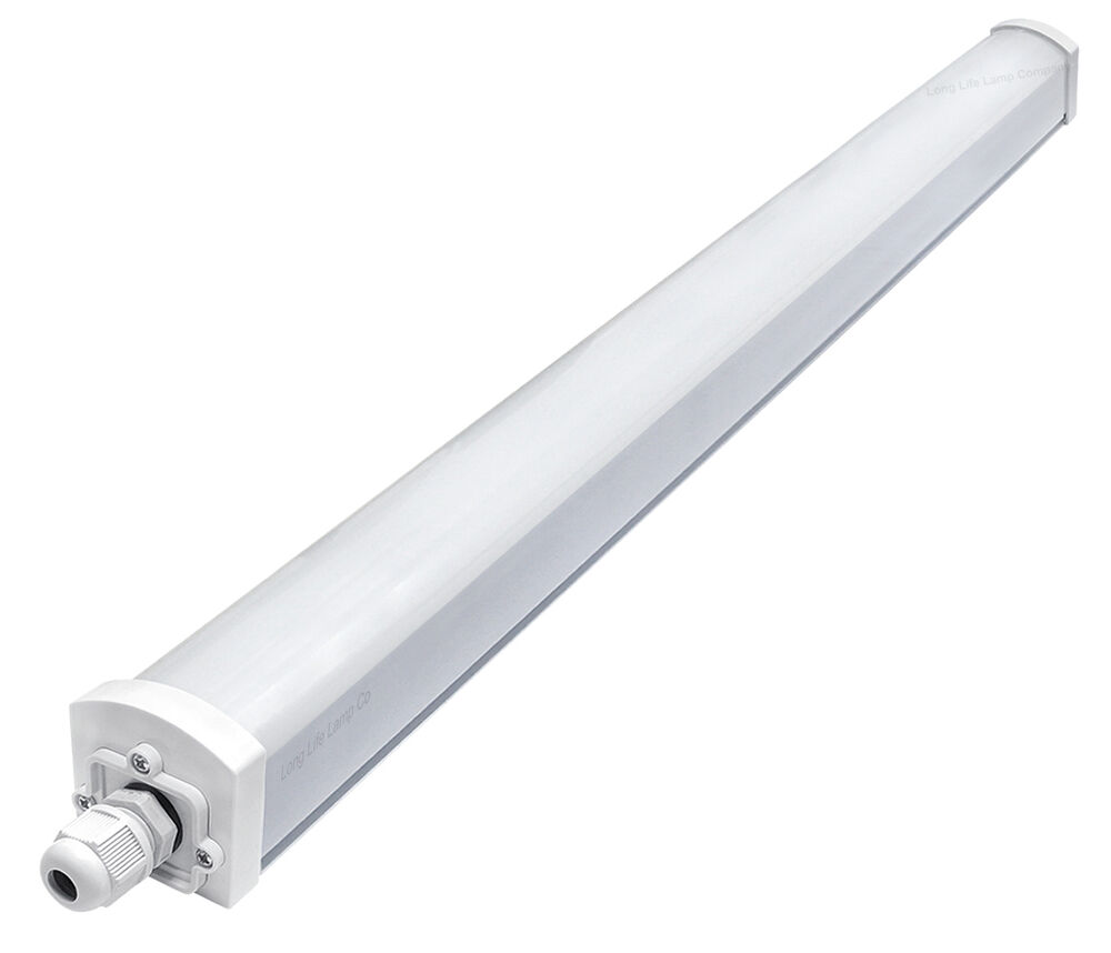 45W LED Batten Light 5ft Frosted Cover Triproof Fittng