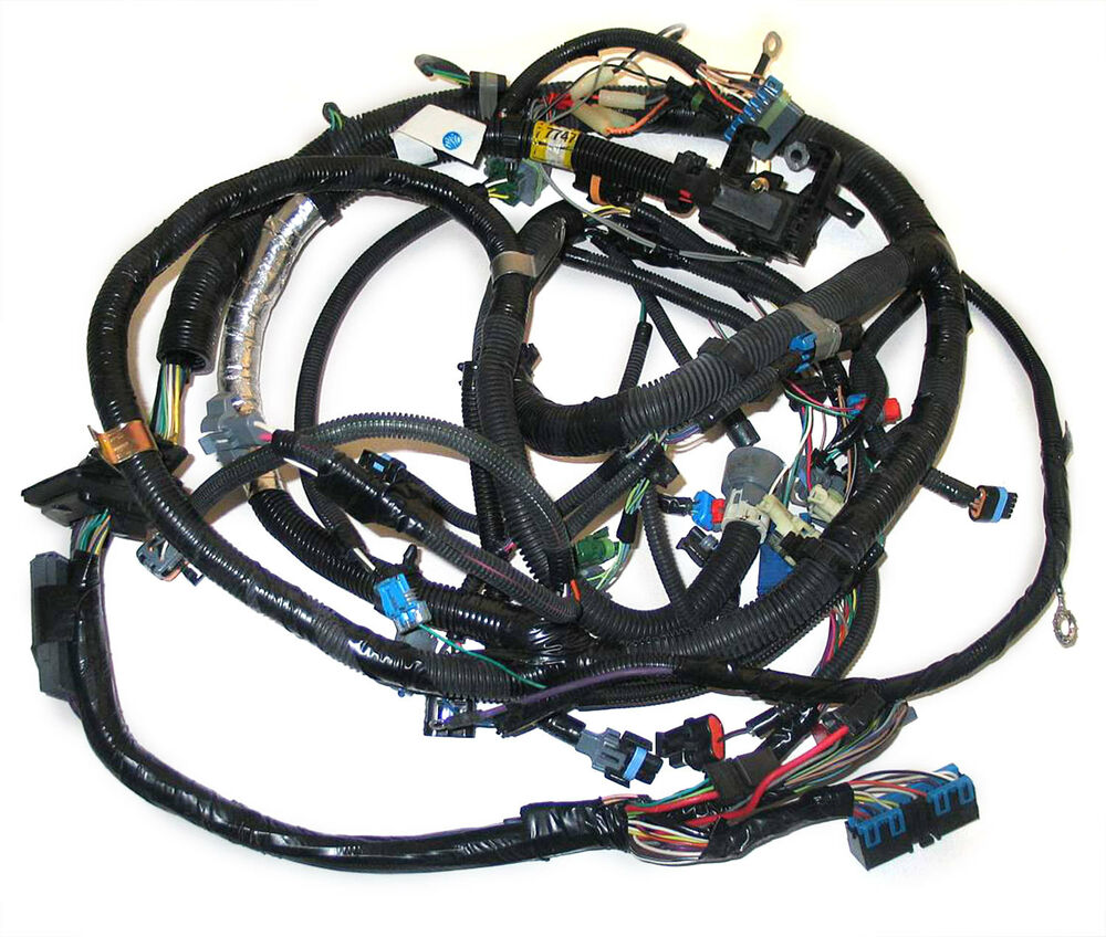new oem tbi engine wire harness for 5 0l 5 7l engines gm 12167747 ebay