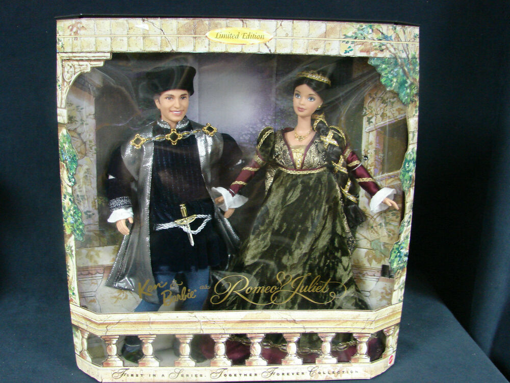 Ken & Barbie As Romeo & Juliet 1st In A Series Together