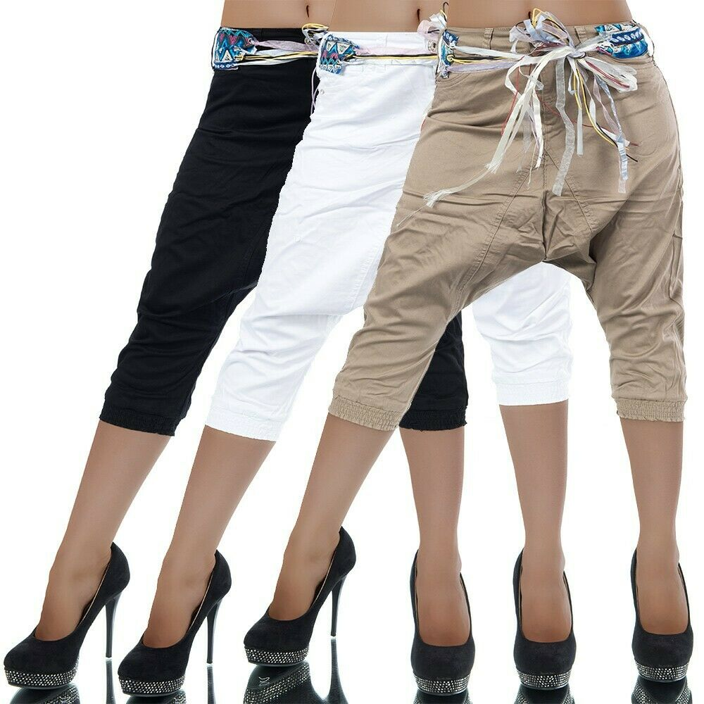 l177 damen jeans hose extrem aladin chino boyfriend harem pump pluder baggy ebay. Black Bedroom Furniture Sets. Home Design Ideas
