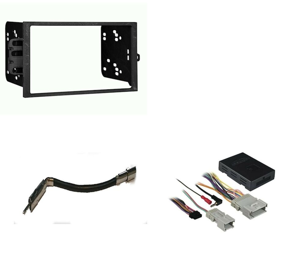 stereo radio double din dash kit bose amp onstar wiring stereo radio double din dash kit bose amp onstar wiring harness interface pkg