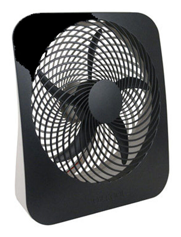 02 Cool Battery Operated Fan : Cool battery electric fan quot with adapter black rv