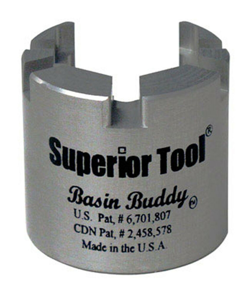 Superior Tool Basin Buddy Universal Faucet Nut Wrench Made
