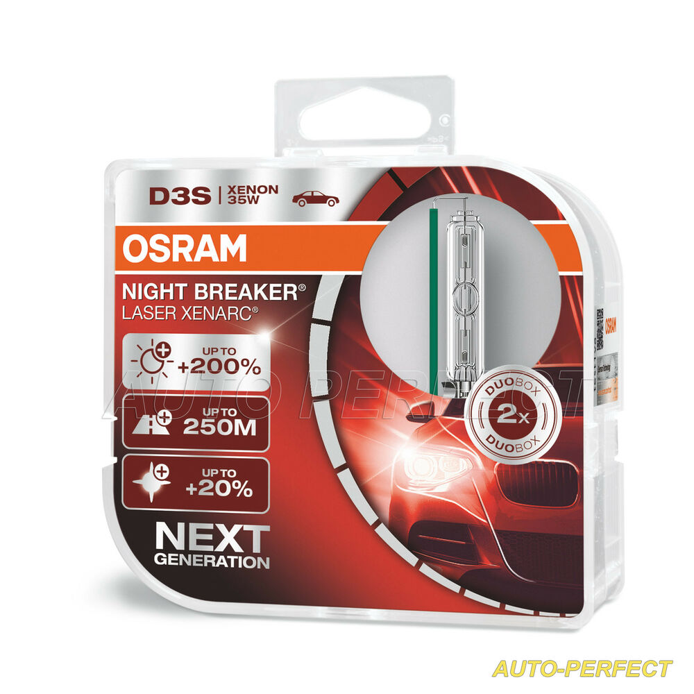 authentic osram xenarc night breaker unlimited d3s hid bulb 70 brighter xnb ebay. Black Bedroom Furniture Sets. Home Design Ideas