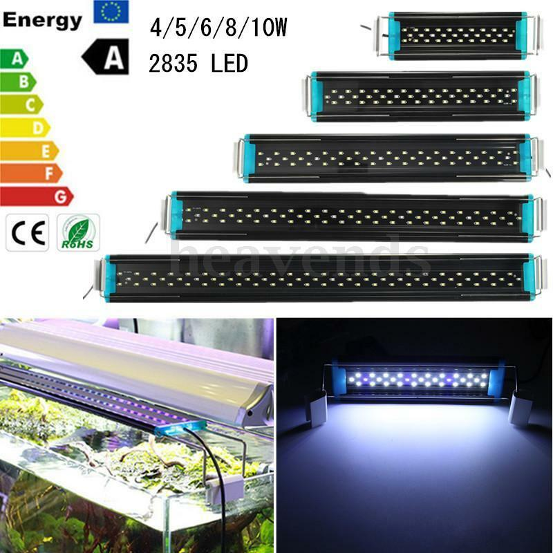 4 5 6 8 10w 2835 led aquarium beleuchtung aufsetzleuchte aquariumleuchte halter ebay. Black Bedroom Furniture Sets. Home Design Ideas