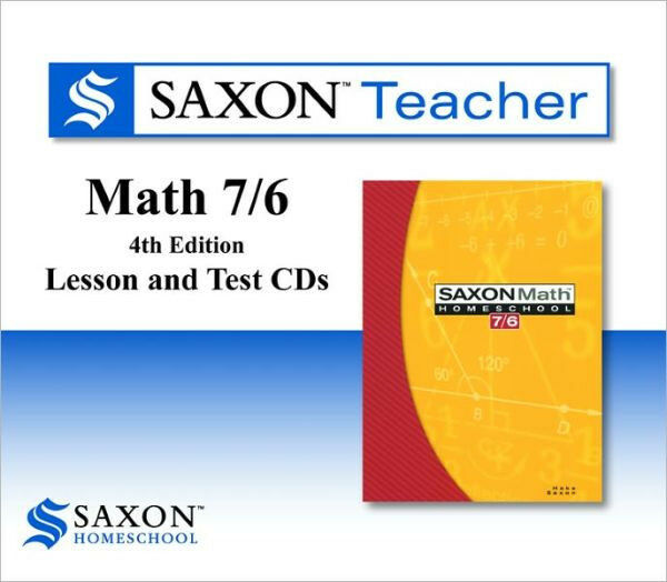 Saxon Math 7/6 76 Teacher Edition (3rd Edition)