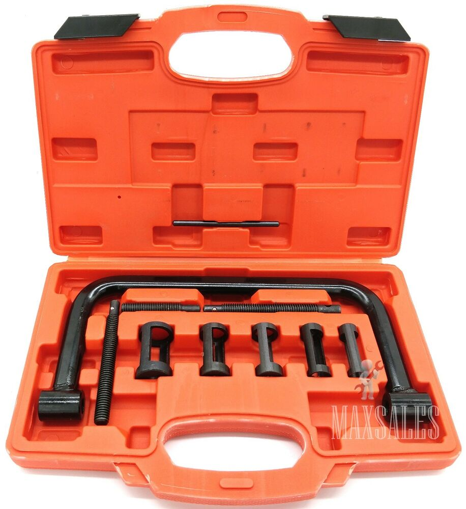 Valve Spring Compressor Solid Removal Tool Kit Auto Dirt