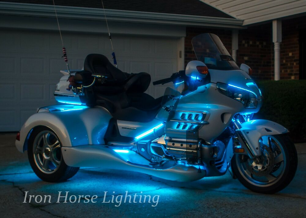 243 Led Trike Under Glow Kit Rgb Color Changing W Remote