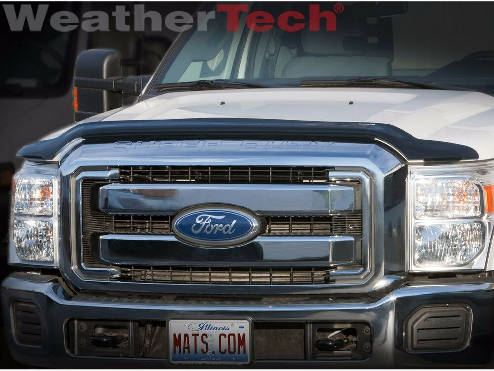 Weathertech Stone Amp Bug Deflector Hood Shield For Ford