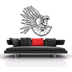 Aztec/Mayan Warrior-Home Decal-Great for walls of your home and as gifts.