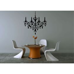 Fancy Chandelier Home Vinyl Sticker/Decal for wall in your home decor.
