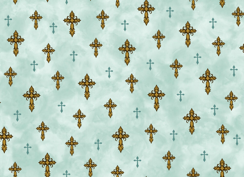Christian amazing grace 100 cotton fabric cross fabric by for Purchase fabric by the yard