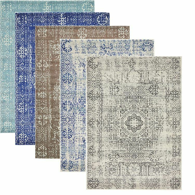 Transitional Persian Style Area Rug Modern Large Carpet