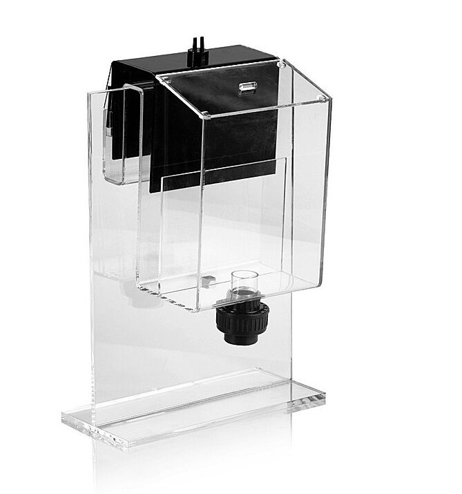 Siphon hang on overflow box non perforated bottom filter for Fish tank bottom filter