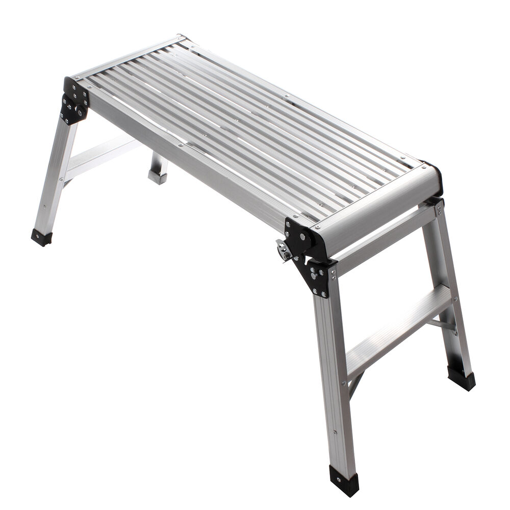 New En311 80cm Hop Up Folding Aluminium Work Bench