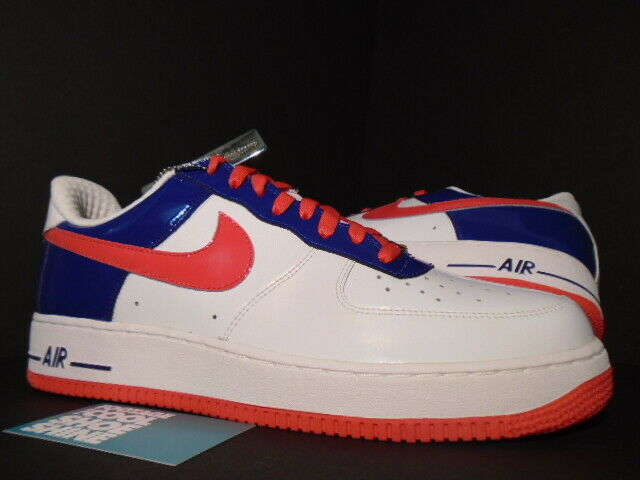 new style fb664 82403 Details about 2006 Nike Air Force 1 Premium SOUTH KOREA WORLD CUP WHITE  ROYAL BLUE RED PINK 11