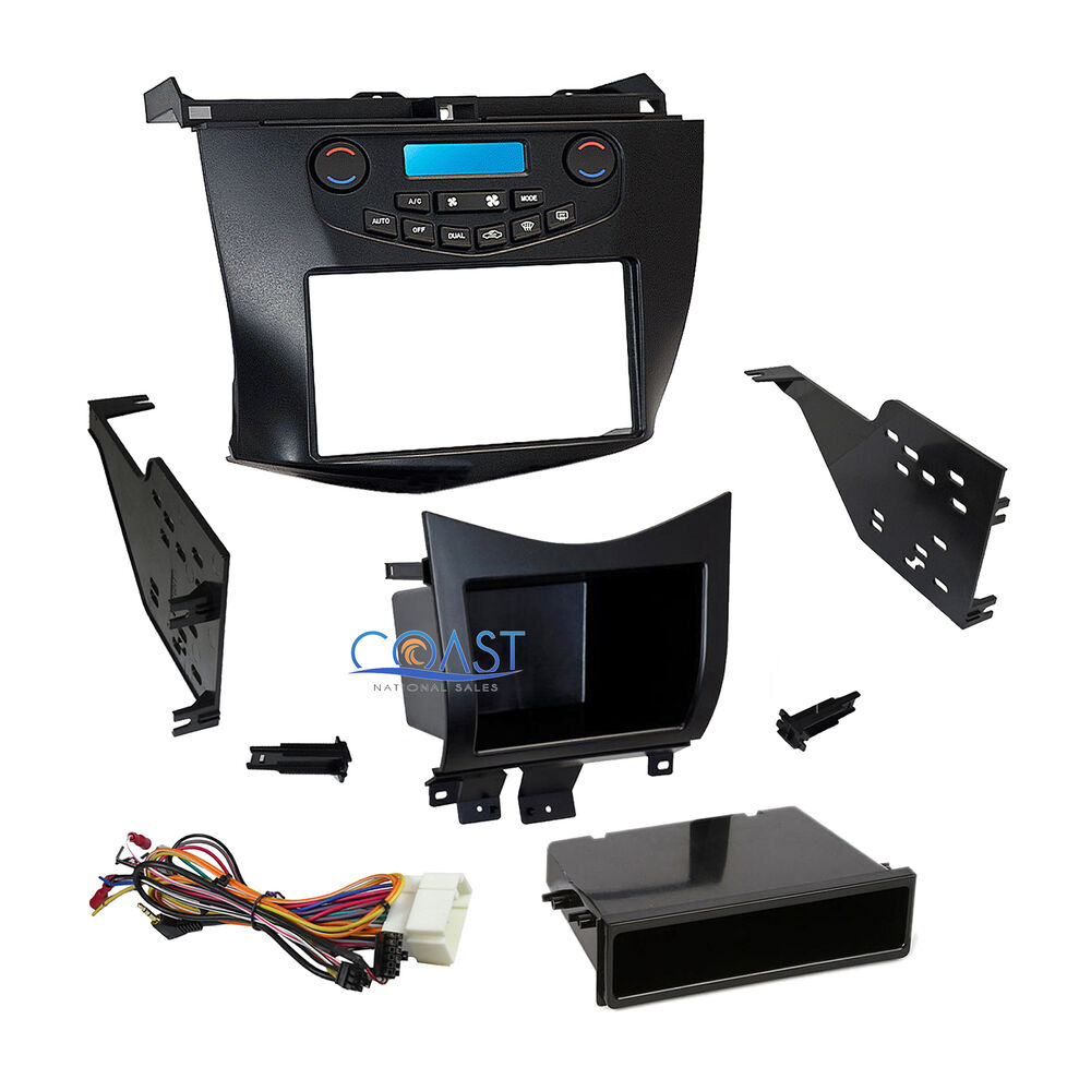 metra car stereo dash kit pockets harness for 2003 2007 honda accord 99 7803g ebay