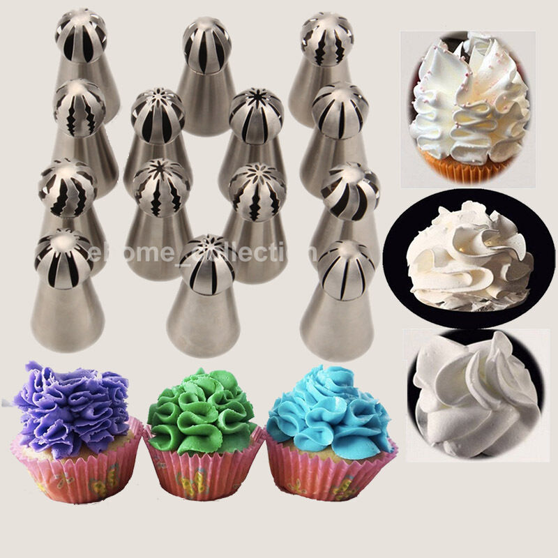 Sphere Ball Stainless Steel Russian Icing Piping Nozzles ...