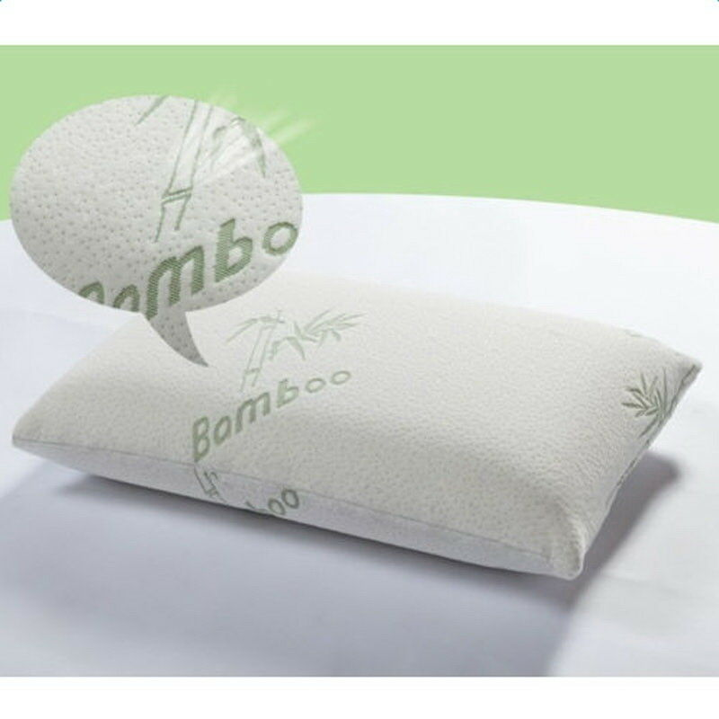 Hotel comfort hypoallergenic bamboo shredded memory foam for Comfort inn pillows to purchase