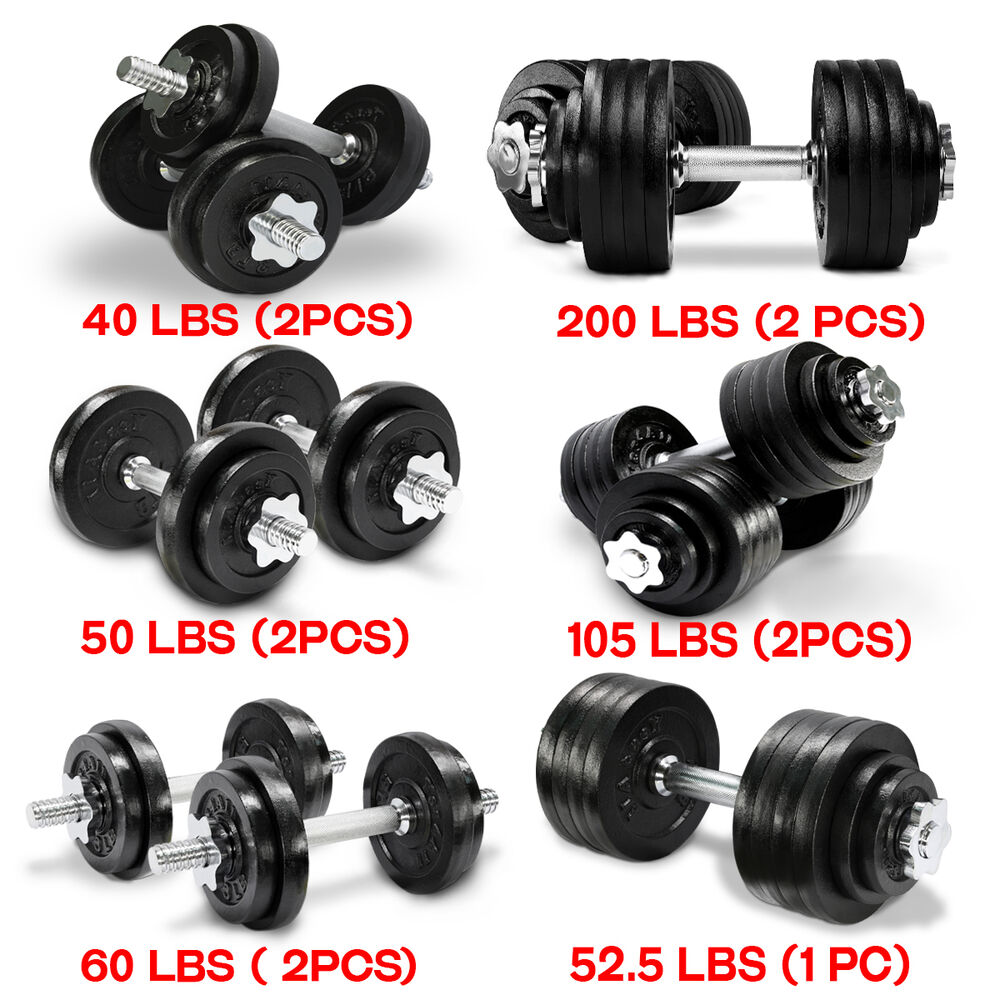 Adjustable 200 Lb Dumbbells: Yes4All Adjustable Dumbbell Weight Set For Fitness, 40 To