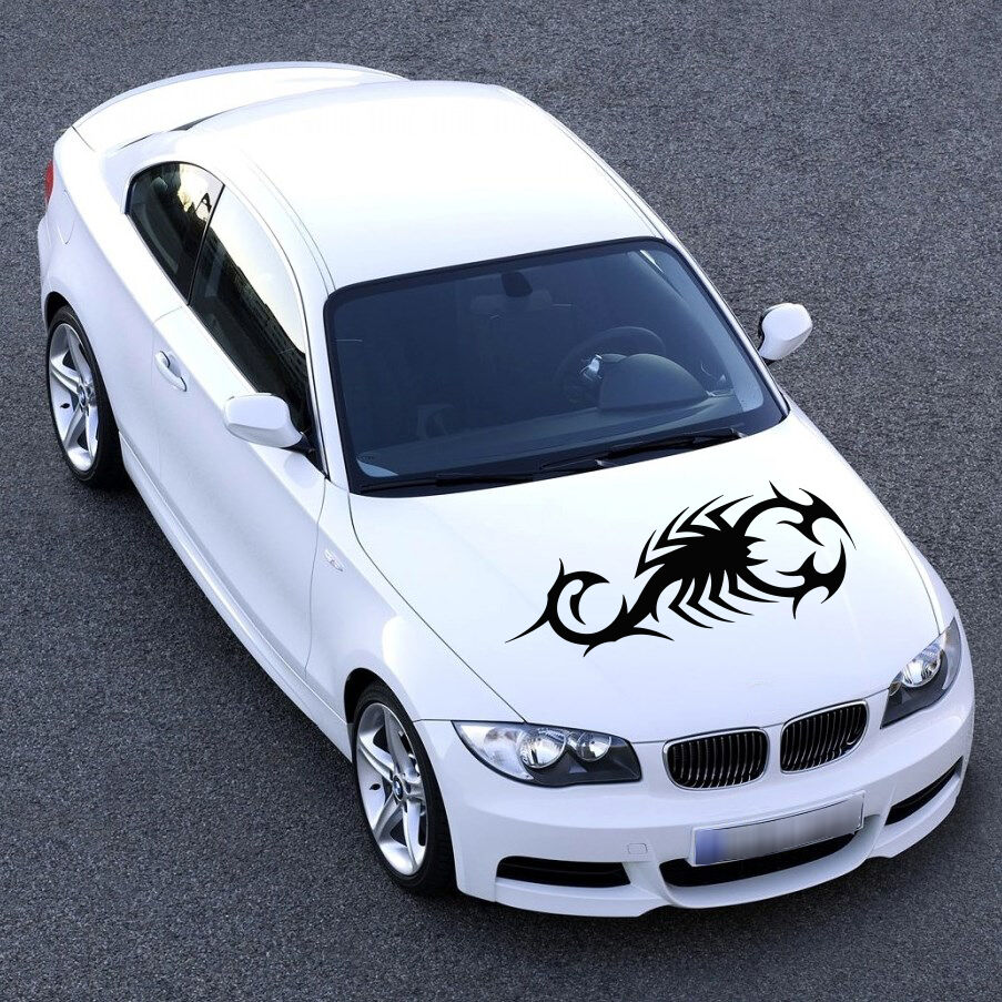 Details about car hood stickers scorpion decal for car vinyl car graphics sv1104