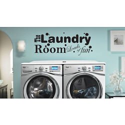 The Laundry Room Loads of Fun Vinyl Sticker Decal Wall Decor