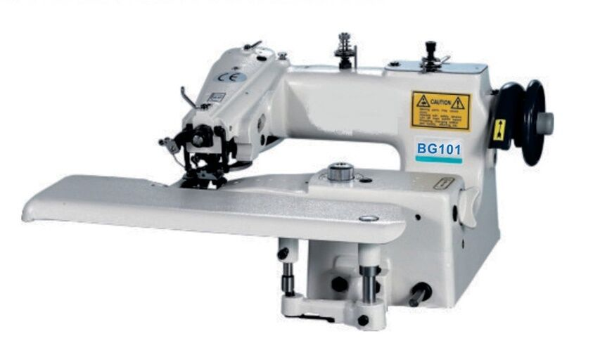 NewTech CM40 Blind Hemmer Single Thread Chain Stitch Industrial Adorable Sewtech Industrial Sewing Machine