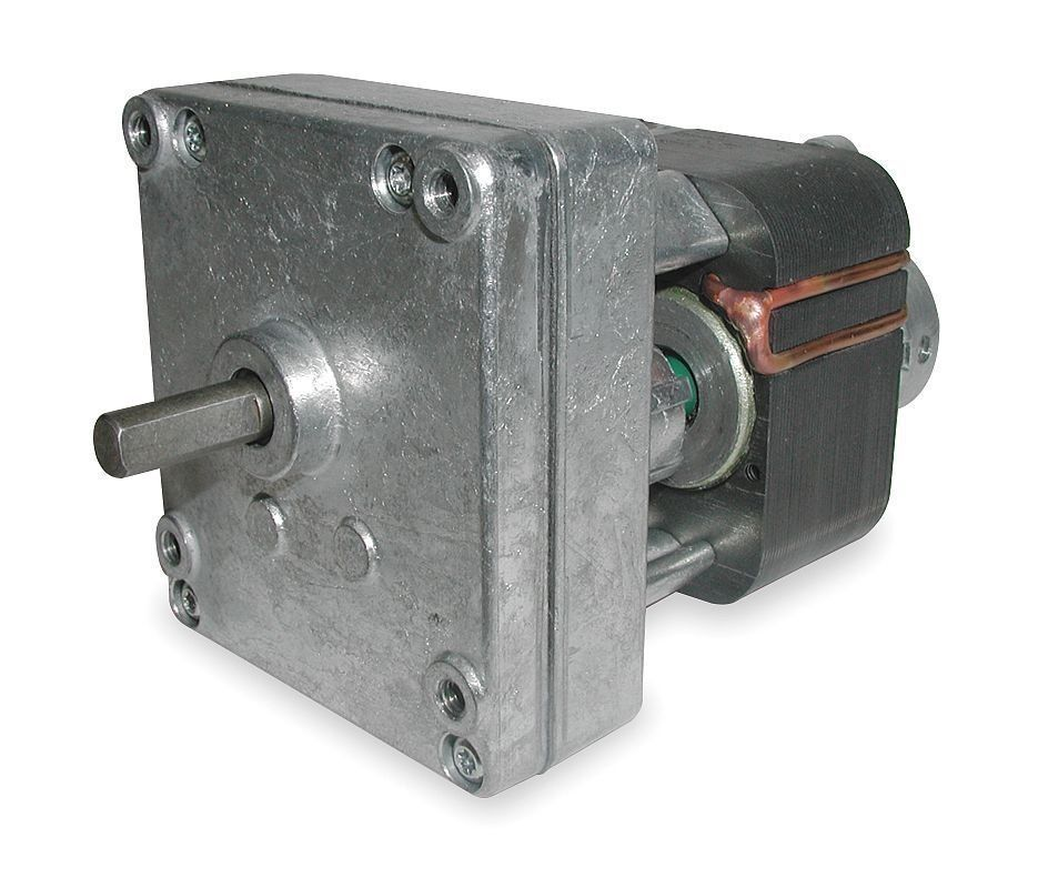 Dayton model 1mbf4 gear motor 2 2 rpm 1 476 hp 115v old for Shaded pole gear motor