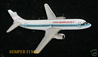 PIEDMONT 737 HAT LAPEL PIN UP PILOT CREW WING SOLO GIFT AIRLINER BROACH AIRLINE