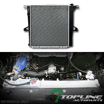 aluminum core radiator for 1998 2000 ford explorer 2001. Black Bedroom Furniture Sets. Home Design Ideas