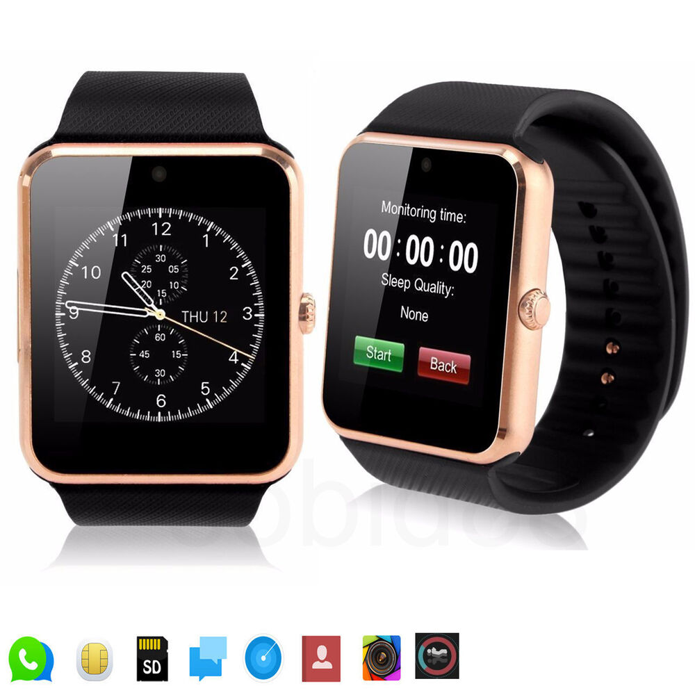 Bluetooth Smart Wrist Watch Support SIM Card For Android ...