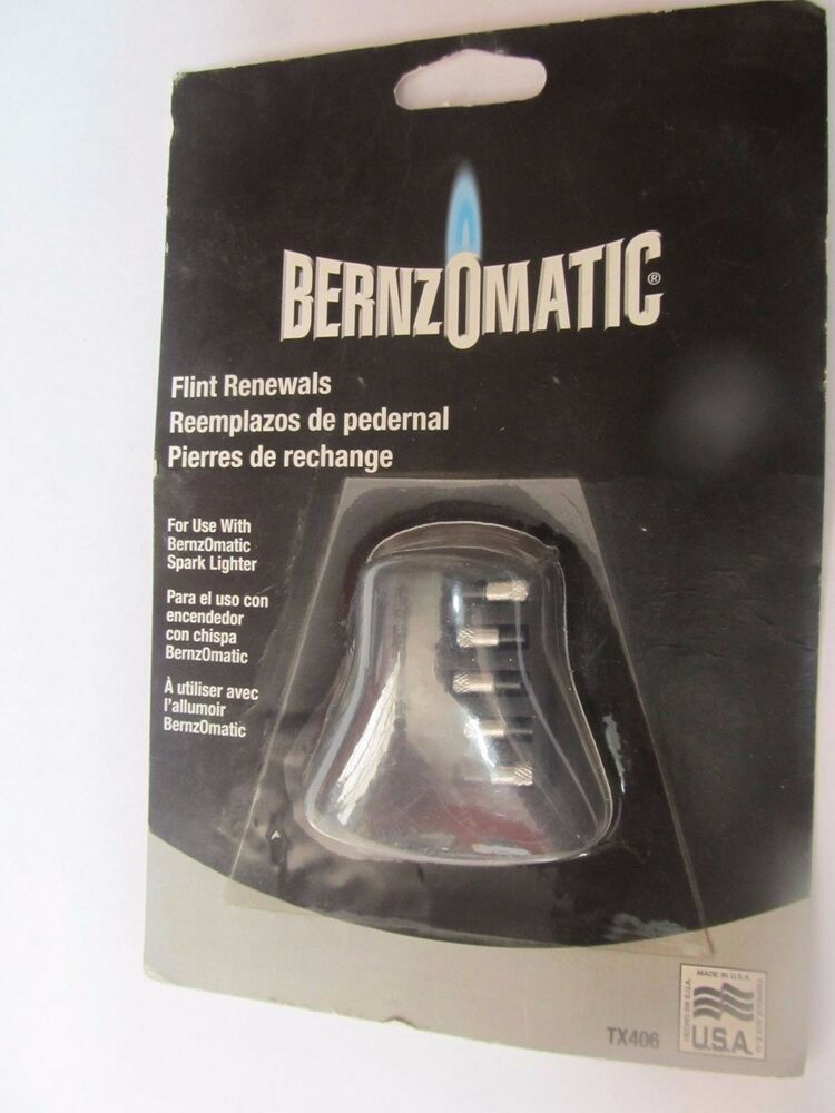 bernzomatic tx406 replacement flints torch lighter package of 5 new ebay. Black Bedroom Furniture Sets. Home Design Ideas