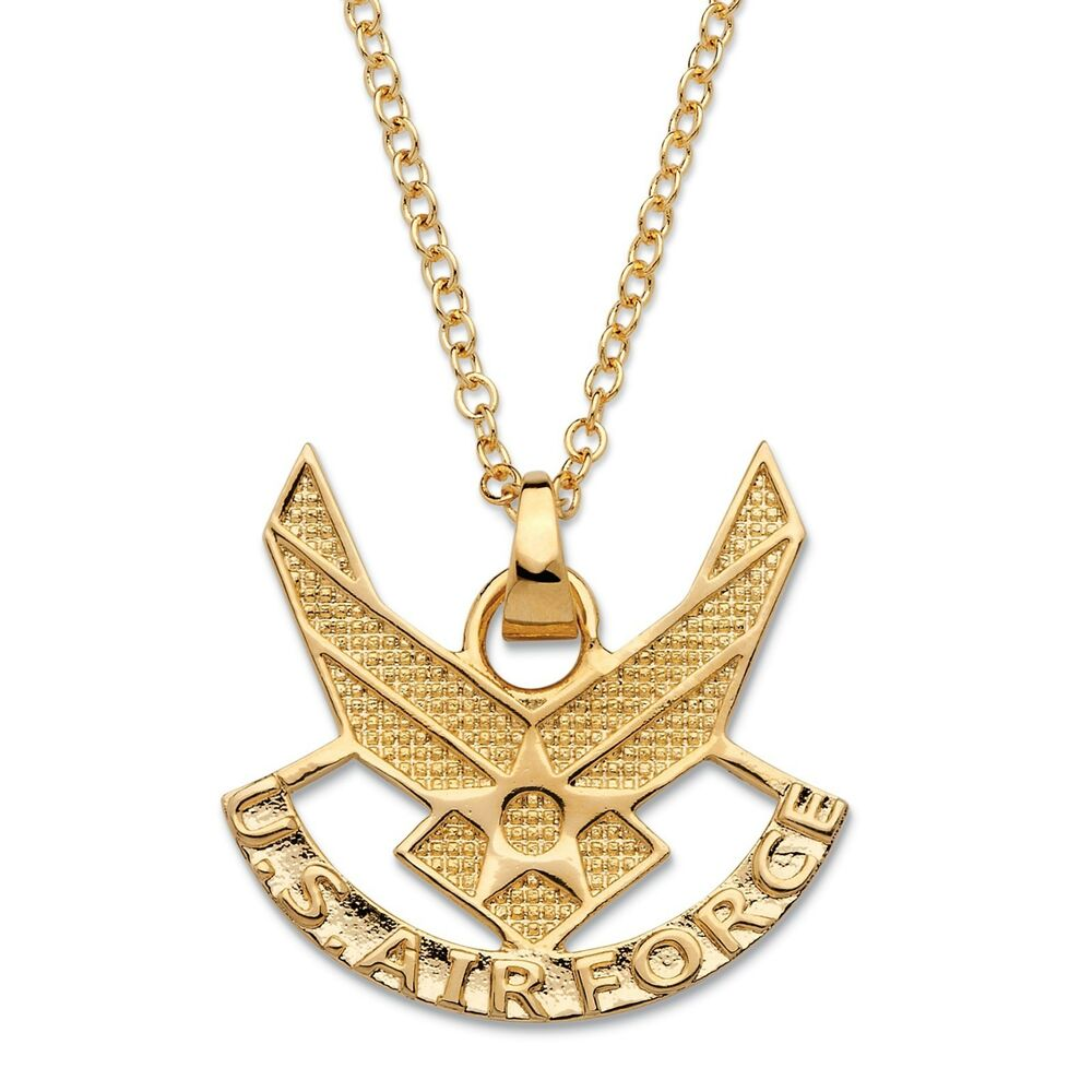 air 14k gold ega pendant gp necklace with 20 quot chain