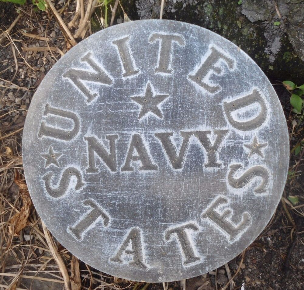 military united states navy plaque plastic mold ebay. Black Bedroom Furniture Sets. Home Design Ideas