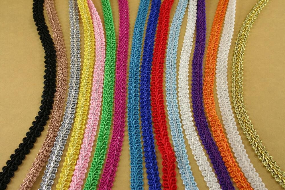 24 yards braided gimp fabric trim crafting sewing for Bulk sewing material