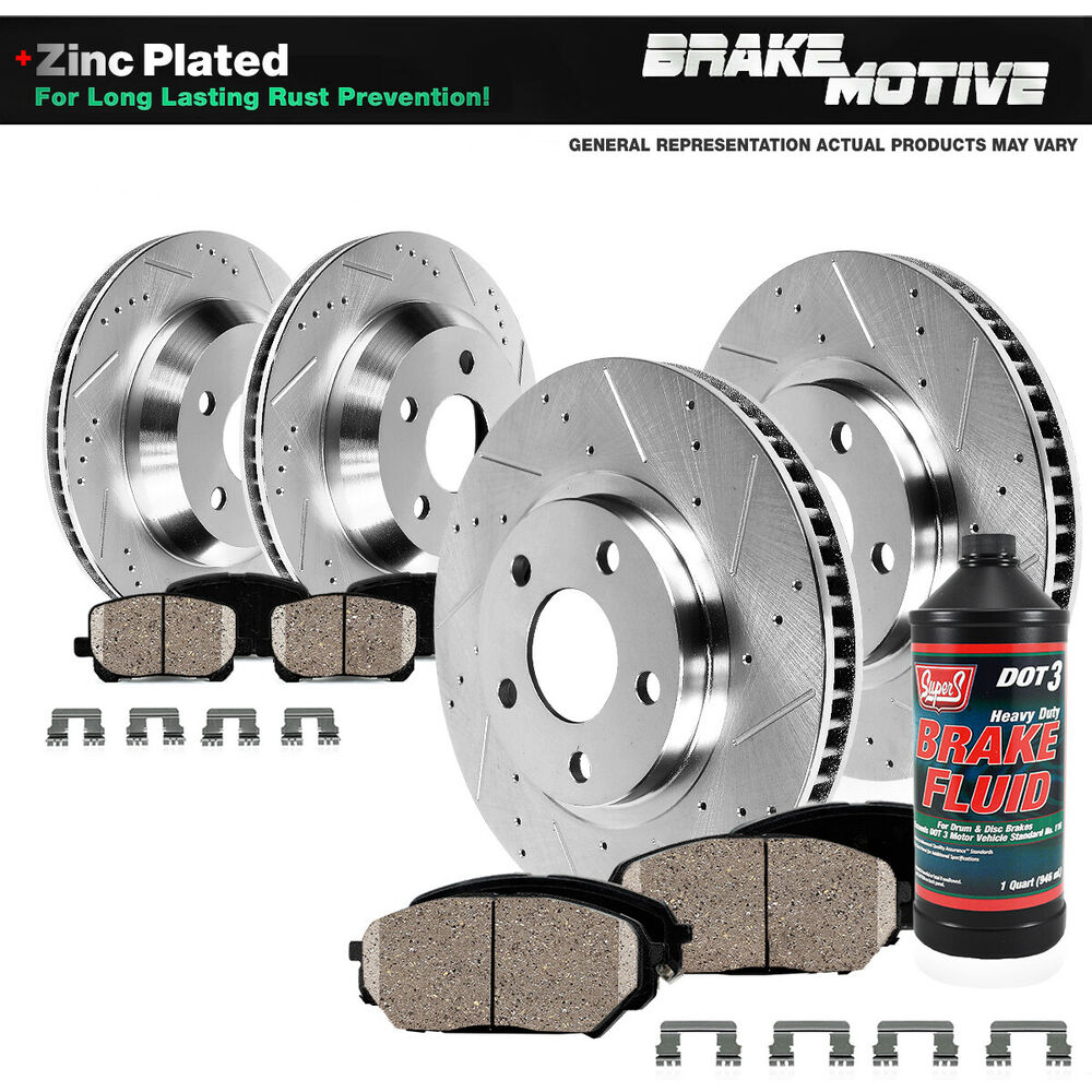 Front And Rear Brake Rotors Amp Ceramic Pads E60 E63 Bmw
