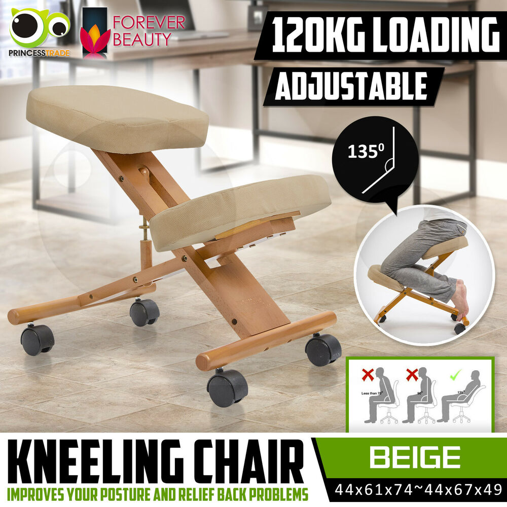 Adjustable Ergonomic Kneeling Chair Stretch Stress Knee