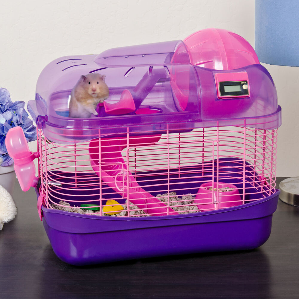 Ware spin city health club hamster cage ebay for Buy guinea pig cage