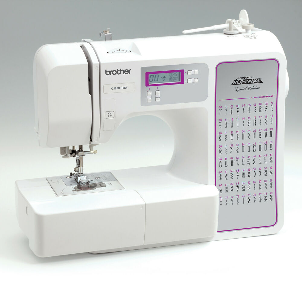 brother cs 8800prw computerized sewing machine ebay. Black Bedroom Furniture Sets. Home Design Ideas